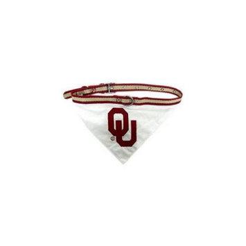 Pets First Oklahoma Sooners Dog Collar Bandana: Oklahoma Sooners Dog C