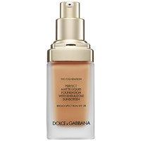 Dolce & Gabbana The Foundation Perfect Matte Liquid Foundation