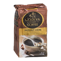Godiva Chocolatier Hazelnut Creme Ground Coffee