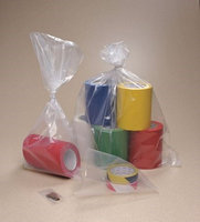 Value Brand 7F1824 Lay Flat Poly Bag, LDPE, 24 In.L, PK1000