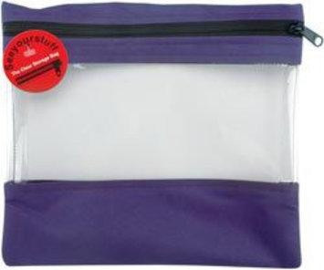 Lyle 84452 Seeyourstuff Clear Storage Bags 10 in. x 11 in. Purple