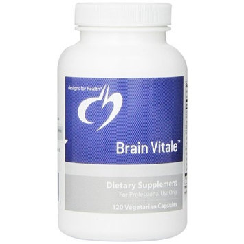 Designs for Health - Brain Vitale 120 capsules Health and Beauty