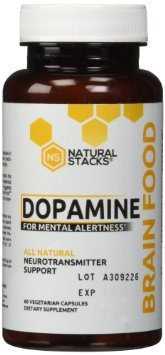 Natural Stacks - Dopamine All Natural Neurotransmitter Support - 60 Vegetarian Capsules