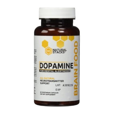 Natural Stacks - Dopamine All Natural Neurotransmitter Support - 60 Vegetarian Capsules