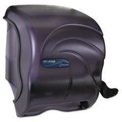 San Jamar Element Lever Roll Towel Dispenser, Black Pearl