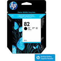 HP 82 High-Capacity Black Inkjet Cartridge (CH565A)