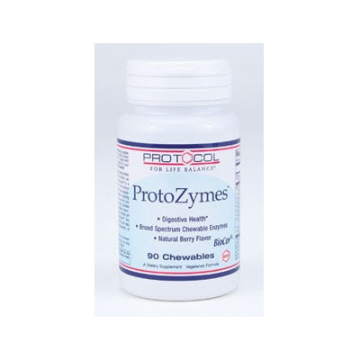 ProtoZymes 90 chews by Protocol For Life Balance