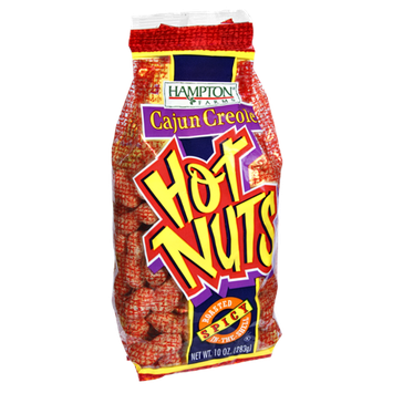 Hampton Farms Cajun Creole Roasted in the Shell Spicy Hot Nuts
