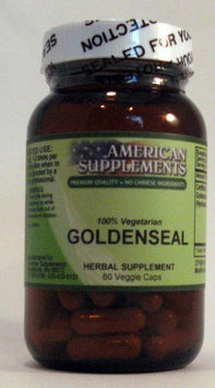 Goldenseal No Chinese Ingredients American Supplements 60 VCaps