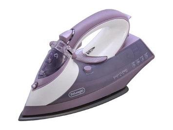 DeLonghi FXG175AT 1750-Watt Easy Turbo Steam Iron, Violet