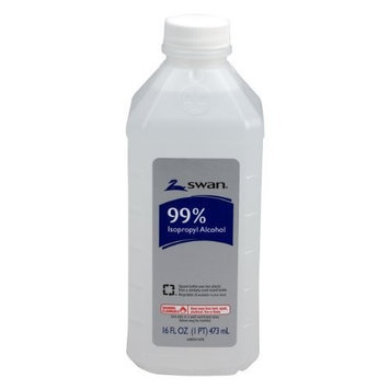 Swan Isopropyl Alcohol, 99%, Pint, 16 OZ