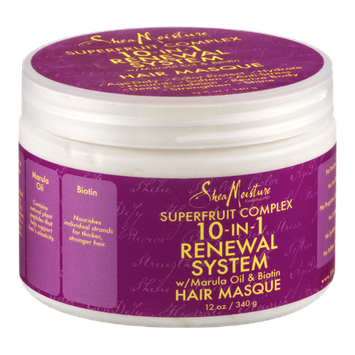 Shea Moisture 10-In-1 Renewal System Hair Masque