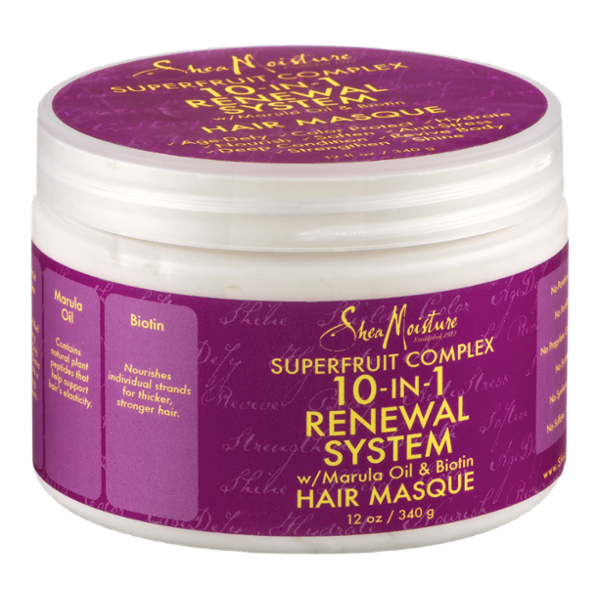 Shea Moisture 10-In-1 Renewal System Hair Masque