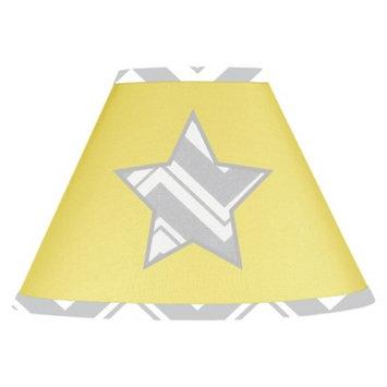 Jo Jo Designs Sweet Jojo Designs Yellow and Gray Zig Zag Lamp Shade