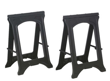 Kingcraft Twin Pack Sawhorses - Kingcraft