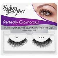 Salon Perfect Perfectly Glamorous Eyelashes, 33 Black, 1 pr