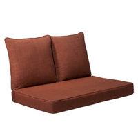 Grand Basket Madaga 3-Piece Loveseat Replacement Cushion Set - Red
