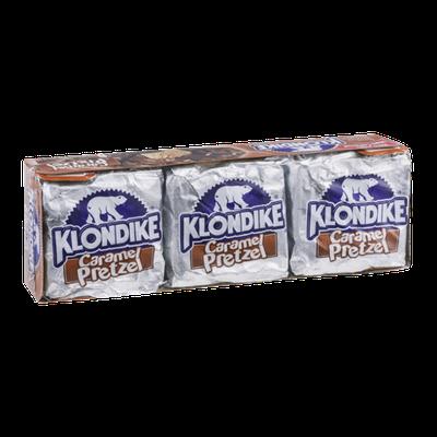 Klondike Caramel Pretzel Ice Cream Bars 6 ct