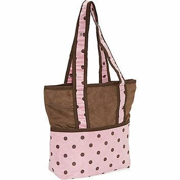 Hoohobbers Tote Diaper Bag - Girl
