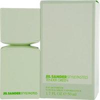 Jil Sander Style Pastels Eau De Parfum Spray for Women, Tender Green, 1.7 Ounce