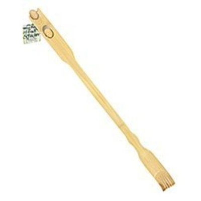 RETAIL Bamboo Back Scratcher Massager Therapeutic Body Interior Mounted Roller Massage