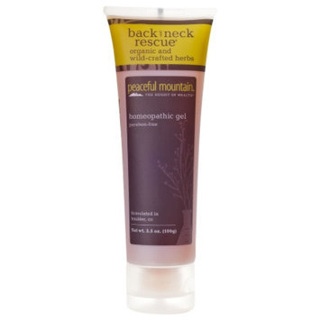 Peaceful Mountain Back Rescue All Natural Gel