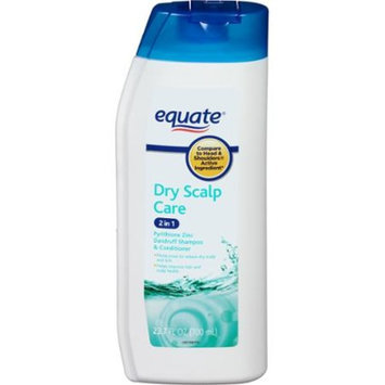 equate beauty Equate Dry Scalp Care 2-in-1 Dandruff Shampoo & Conditioner, 23.7 fl oz