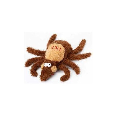 MultiPet MU27433 6 Medium Plush Tick - Dog Toy
