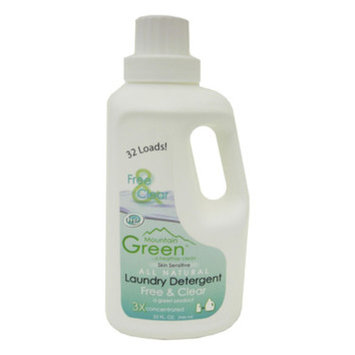 Mountain Green Free and Clear Laundry Detergent