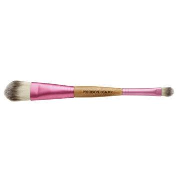 Precision Beauty Dual Face Brush, Soft Taklon Hair