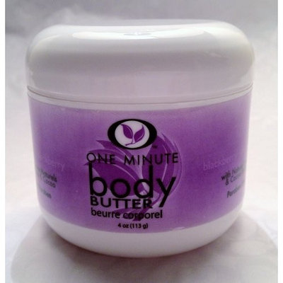 One Minute Manicure One Minute Body Butter Blueberry
