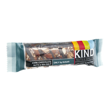 KIND Nuts & Spices Dark Chocolate Nuts & Sea Salt Bar