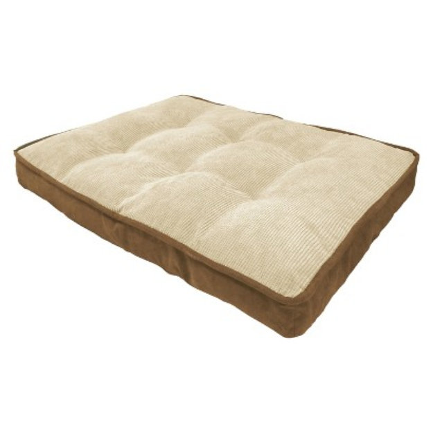 arlee home fashions canine creations mattress pet bed - driftwood