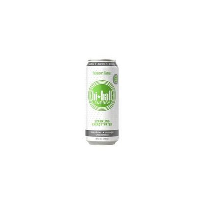 Hiball Energy Sparkling Water - Lemon Lime - 12 per Case