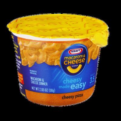 Kraft Macaroni & Cheese Cheesy Pizza