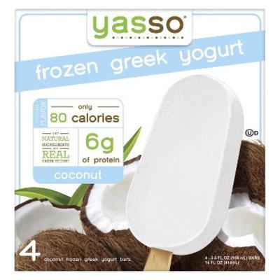 Yasso Coconut Greek Frozen Yogurt 4 ct