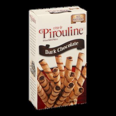 Creme de Pirouline Artisan Rolled Wafers Dark Chocolate
