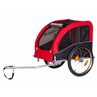 Runner Pet Products Dog Bike Trailer, Red