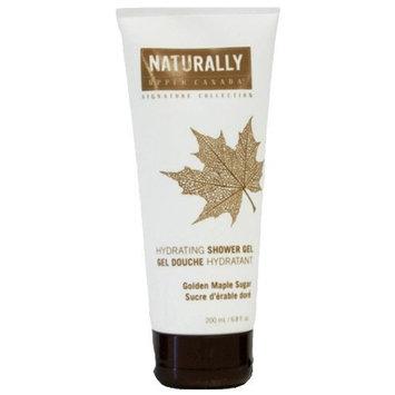 Upper Canada Naturally Signature Collection Shower Gel, Golden Maple Sugar, 6.8 Fluid Ounce