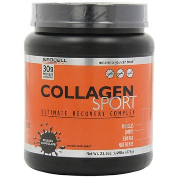 Neocell Collagen Sport Whey IsolateComplex, 30 grams Protein per Serving, Belgium Chocolate, 23.8 Ounce