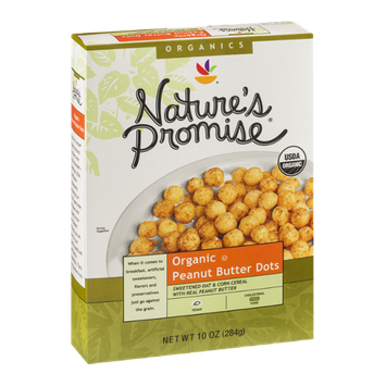 Nature's Promise Organic Peanut Butter Dots Cereal