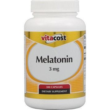 Vitacost Brand Vitacost Melatonin -- 3 mg - 300 Capsules