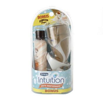 Schick Intuition Pure Nourishment Razor with HT Silk Hydration Sunscreen