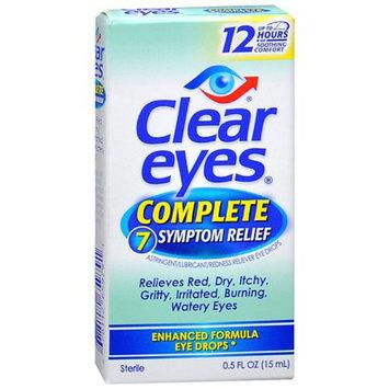 Clear eyes Complete 7 Symptom Relief Eye Drops