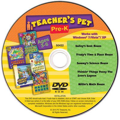 Pc Treasures PC Treasures Teacher's Pet: Pre K -CD -PC