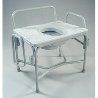 TFI Wide Drop Arm Commode