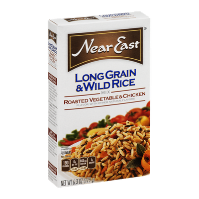 Near East Long Grain & Wild Rice Mix Roasted Vegetable & Chicken