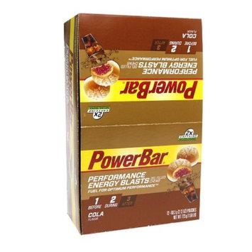 PowerBar Performance Energy Blasts Gel Cola