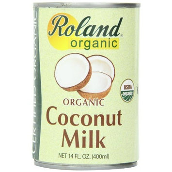 Roland Organic Coconut Milk, 14-Ounce (Pack of 24)