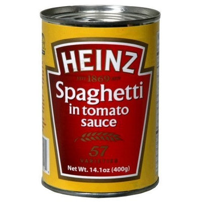 Heinz Spaghetti In Can , 13.3 oz (pack of 24 )